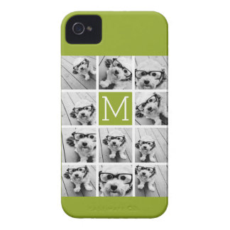 Create Your Own Instagram Photo Collage Lime Case-Mate iPhone 4 Cases