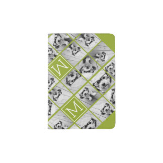 Create Your Own Instagram Photo Collage Lime Passport Holder