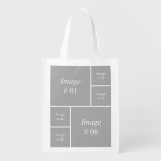 Create your own Instagram photo collection Reusable Grocery Bag