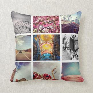 Create Your Own Instagram Pillows Throw Cushions