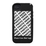 Create Your Own iPhone 4 Tough Case Black
