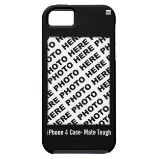 Create Your Own iPhone 5 Tough Case Black