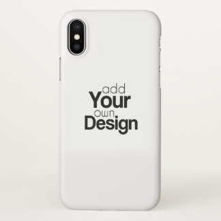 Create Your Own iPhone X Phone Case