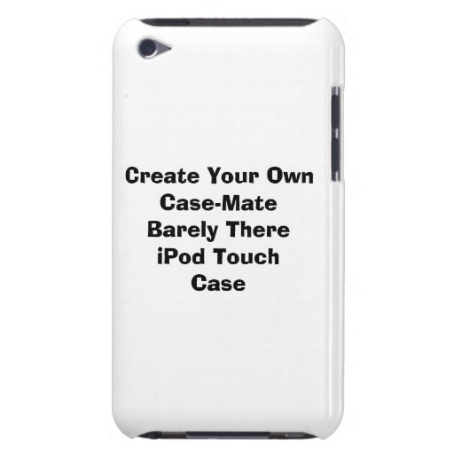 Create Your Own iPod Touch 4G Case iPod Case-Mate Cases
