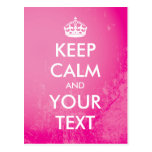 """Create your own """"Keep Calm"""" (pink grunge)"""