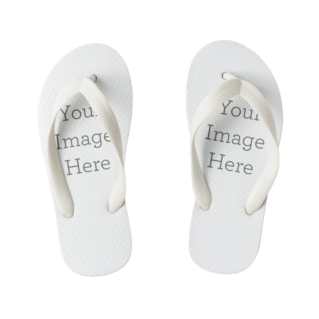 Create Your Own Kid's Flip Flops