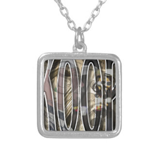 Create Your Own Koop Merchandise Square Pendant Necklace
