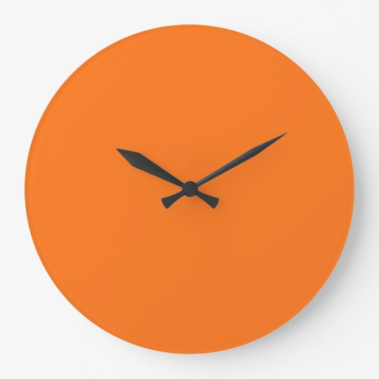 Create Your Own Large Wall Clock (Round)