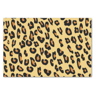 Create Your Own Leopard Skin Pattern Tissue Paper