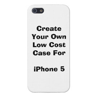 Create Your Own Low Cost iPhone 5/5S Case Savvy