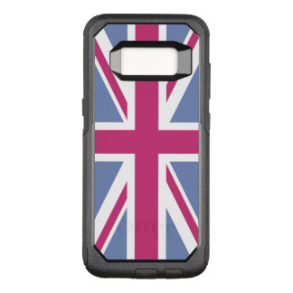 Create Your Own Magenta Union Jack OtterBox Commuter Samsung Galaxy S8 Case