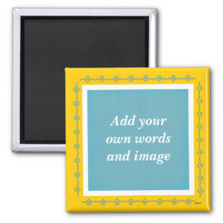 Create Your Own Magnet (teal)
