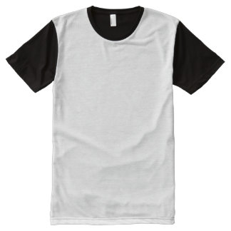 Create Your Own Man's Print All-Over Panel T-Shirt All-Over Print T-Shirt