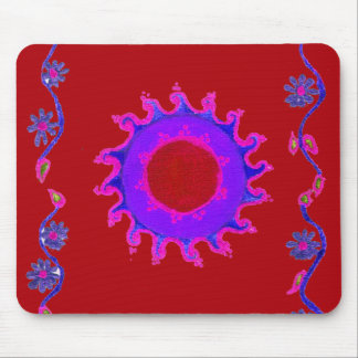 Create Your Own midnight sunshine Mouse Mat