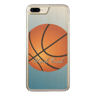 Create your Own Monogram Basketball Carved iPhone 8 Plus/7 Plus Case