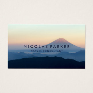 Create Your Own Mount Fuji Business Card