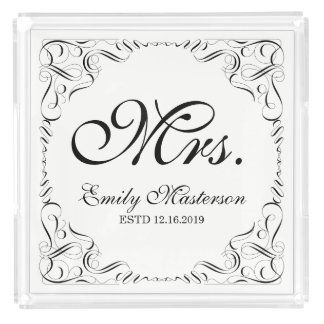 Create Your Own Mr Mrs His Hers Wedding Monogram