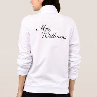 Create Your Own Mrs. Wedding Jacket