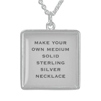 Create Your Own Personalized Necklace