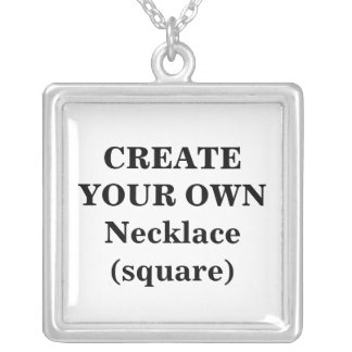 Create Your Own Necklace (square)