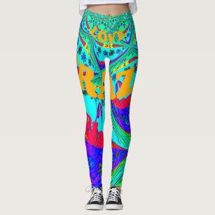 Women S Beautiful Fantastic Feminine Design Leggings Tights