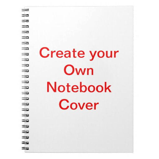 Design Your Own Notebook Pages Uk
