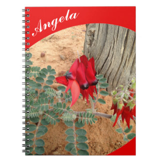 Create your own notebook - red