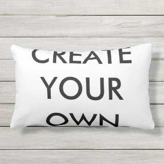 "Create Your Own Outdoor Lumbar Pillow 13"" x 21"""