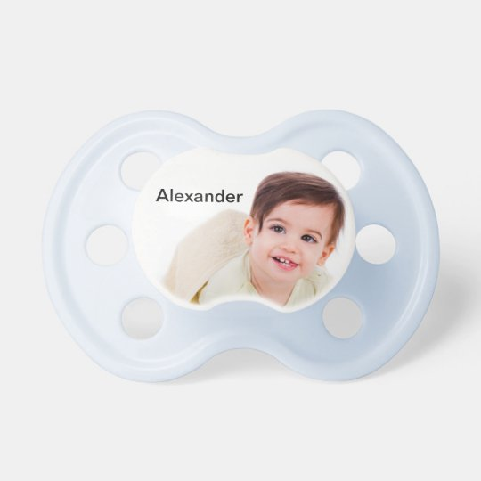 Create Your Own Personalised Blue Pacifier