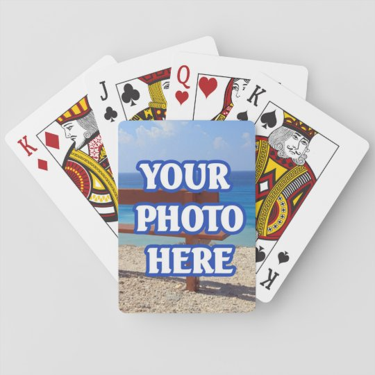 Create Your Own Personalised Custom Playing Cards