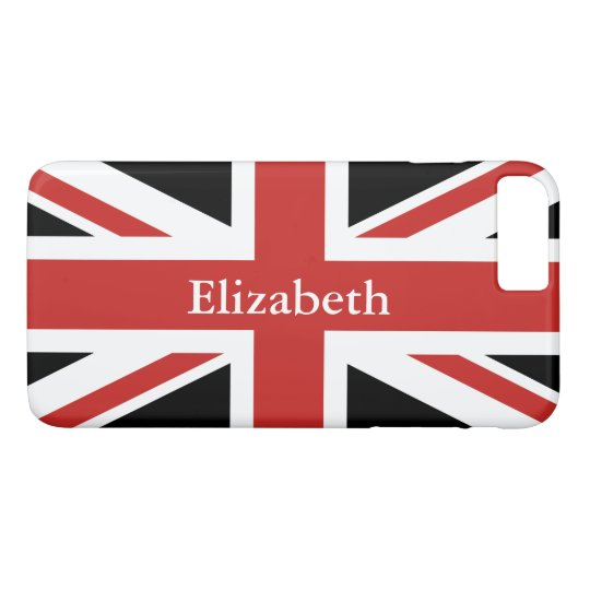 Create Your Own Personalised Red Union Jack iPhone