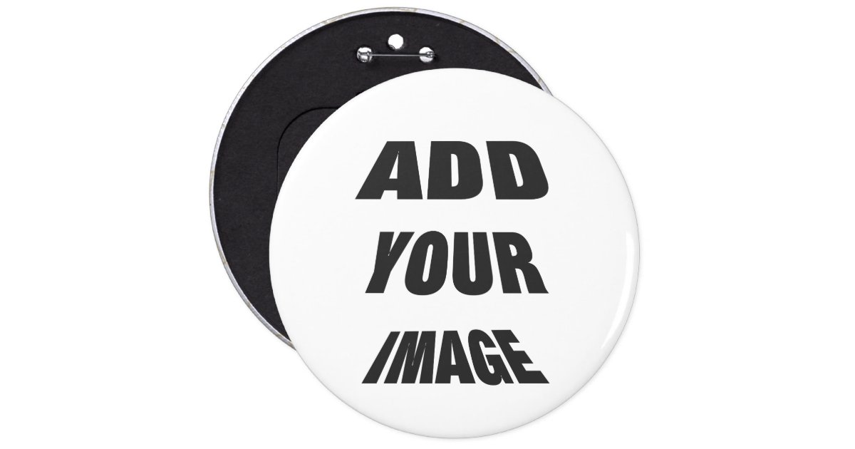 Create Your Own Personalised Round Button Zazzle