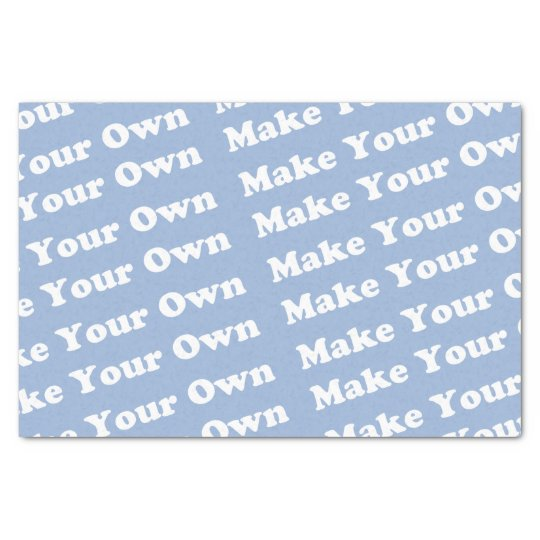 Create Your Own Personalised Tissue Paper