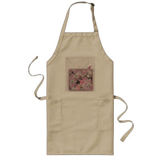Create your own personalized 70th birthday long apron