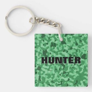 Create Your Own Personalized Camouflage Pattern Double-Sided Square Acrylic Key Ring