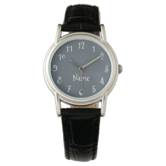 Create Your Own Personalized Solid Color Watch