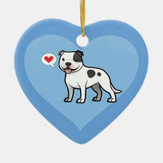 Create Your Own Pet Ceramic Heart Decoration