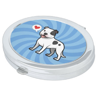 Create Your Own Pet Compact Mirrors