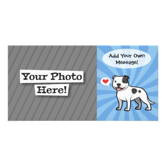 Create Your Own Pet Customised Photo Card