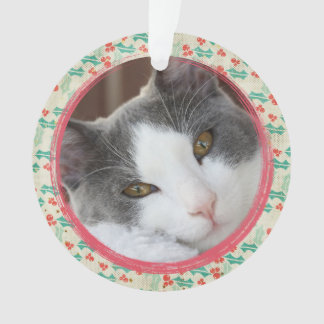 Create Your Own Pet Dog Or Pet Cat  Photo Ornament