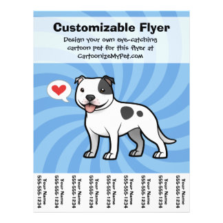 Create Your Own Pet Personalized Flyer