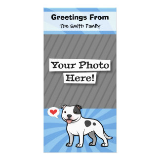 Create Your Own Pet Photo Greeting Card