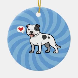 Create Your Own Pet & Photo Round Ceramic Decoration