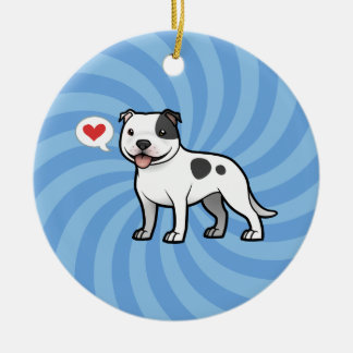 Create Your Own Pet Round Ceramic Decoration