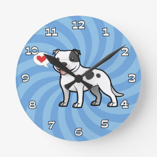Create Your Own Pet Round Clock