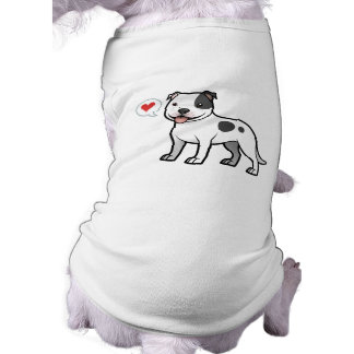 Create Your Own Pet Sleeveless Dog Shirt