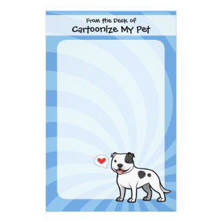 Create Your Own Pet Stationery Design