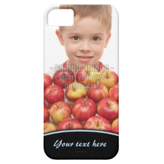 Create Your Own Photo Blue Edge iPhone5 iPhone 5 Case