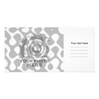 Create Your Own Photo Card White