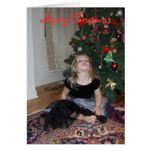Create your own photo christmas greeting card zazzle for Make your own singing christmas card